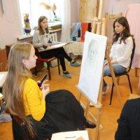 Мероприятия отделения изобразительного искусства в рамках празднования юбилея школы
